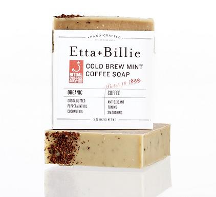 Organic Coffee Mint Soap by Etta & Billie