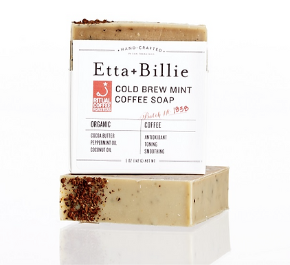 Organic Coffee Mint Soap by Etta & Billie