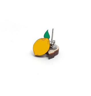 Lemon Earrings by Unpossible Cuts