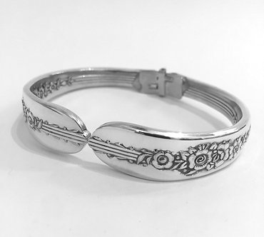 Vintage Spoon Bracelet by John Marchello