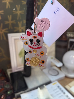 Lucky Cat Necklace by Splendid Colors