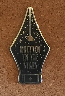 Written in the Stars Enamel Pin by Compoco