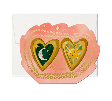 Locket Love Card by Red Cap Cards
