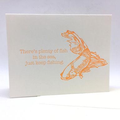 Plenty of Fish Card by Coffee n Cream Press