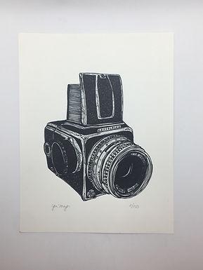 """""""Hasselblad"""" Print by Jen Meyer"""