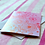 Thumbnail: Shimmery Floral Illustration Card by Pennie Post