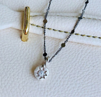 Shooting Star Necklace by Petite Sunflower Shop