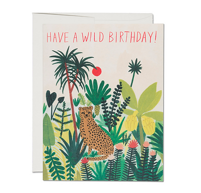 Have a Wild Birthday Card by Red Cap Cards