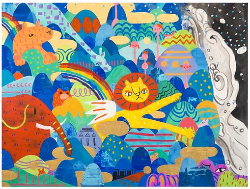 Animal Power Print by Harumo Sato