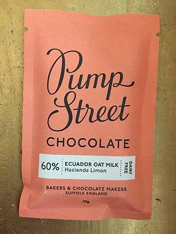 60% Ecuador Oat Milk and and Hacienda Limon Chocolate Mini Bar