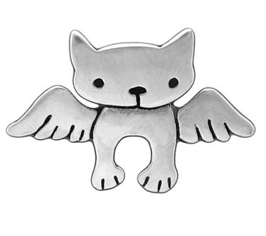 Little Angel Cat Necklace by Mark Poulin