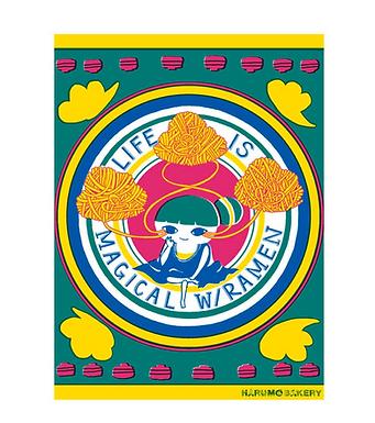 Life is Magical with Ramen Print by Harumo Sato