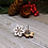 Thumbnail: White Snowflake Earrings by Unpossible Cuts