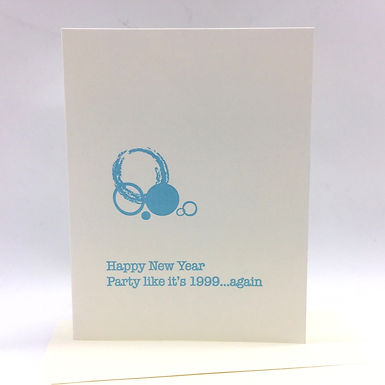 """""""Party like it's 1999...Again"""" Card by Coffee n Cream Press"""
