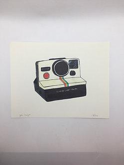 """""""Polaroid"""" Print by Jen Meyer"""