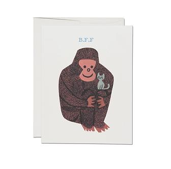 Koko Oddball B.F.F. Card by Red Cap Cards