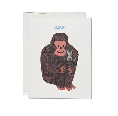 Koko Oddball B.F.F. Card by Red Cap Cards