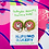 Thumbnail: Donut Rabbit Enameled Stud Earrings by Harumo Bakery
