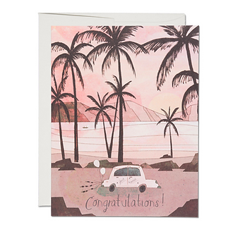 Getaway Car Card by Red Cap Cards