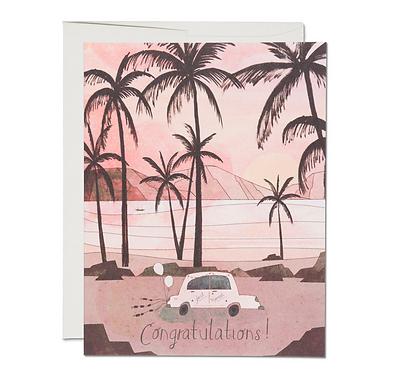 Getaway Car Card by Red Cap Cards