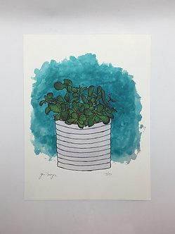 """Jade Plant"" Print by Jen Meyer"