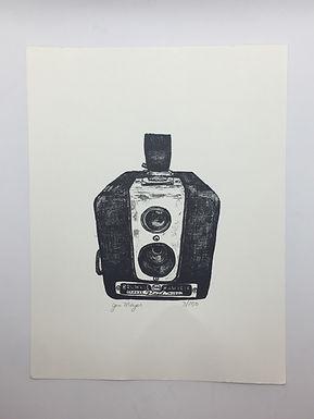 Kodak Camera Print by Jen Meyer