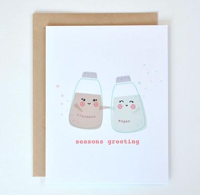 Seasons Greeting Card by Pennie Post