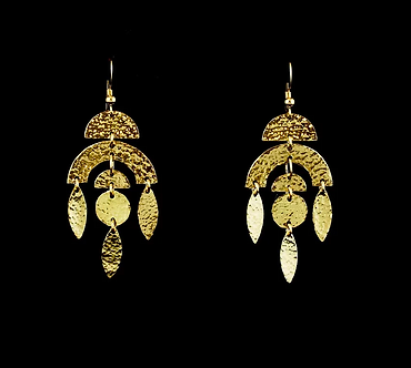 Mama Quilla Earrings by Modern Artifacts