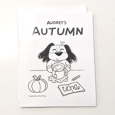 Audrey's Coloring Book by Alice Wong