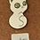 Thumbnail: White Cat Starry Eyes Enamel Pin by Compoco