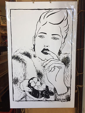 """""""Must Have #2"""" Limited Edition Screen Print by Erika Gómez Henao"""