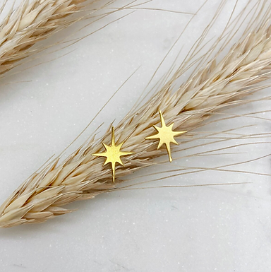 Star Studs by Opal & Gold