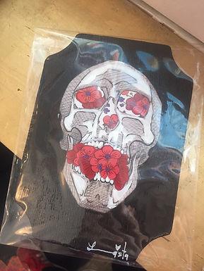 Skull Art by Leeonnista