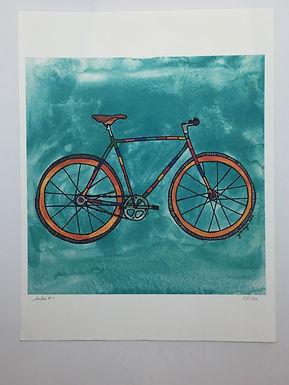 """Bike #1"" Print by Jen Meyer"