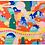 Thumbnail: Mountain Snake Print by Harumo Sato