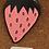Thumbnail: Strawberry Enamel Pin by Jenny Lemons