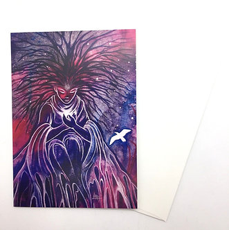 Set of 8 Illustrated Art Cards by Leah Jay