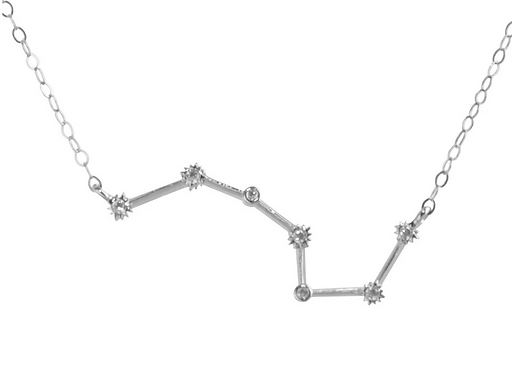Silver Scorpio Constellation Necklace by Thesis of Alexandria