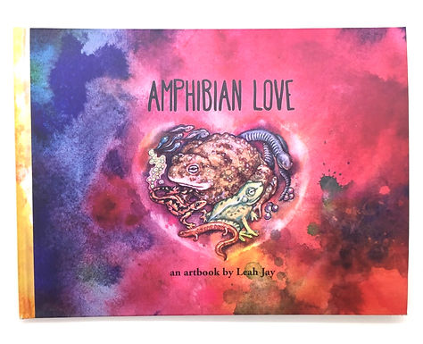 """Amphibian Love"" Artbook by Leah Jay"