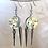 Thumbnail: Shimmer Peekaboo Color Spike Earrings by Emily Brooks