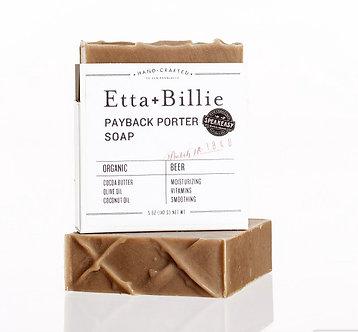 Organic Payback Porter Soap by Etta & Billie