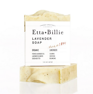 Organic Lavender Soap by Etta + Billie