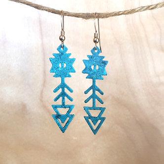 Arrow Earrings by Modern Artifacts