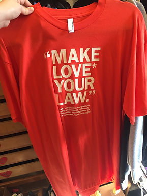 Make Love Your Law Mens Shirt