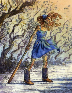 FS#8: Witch Hunt Print by Scout Tran