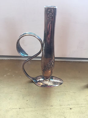 Vintage Cutlery Vase by John Marchello