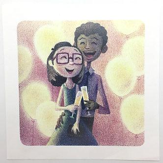 Celebration Print by Alice Wong
