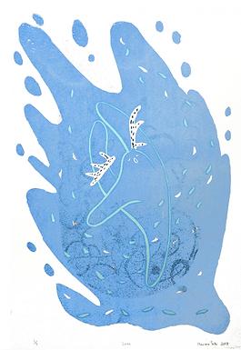 Dance (Edition 5/9) Screen Print by Harumo Sato