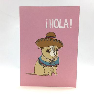 ¡Hola! Dog Card by Gemma Correll