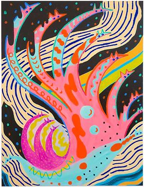 Space Bubbles Print by Harumo Sato